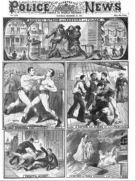 Illustrated Police News - Weybridge Library