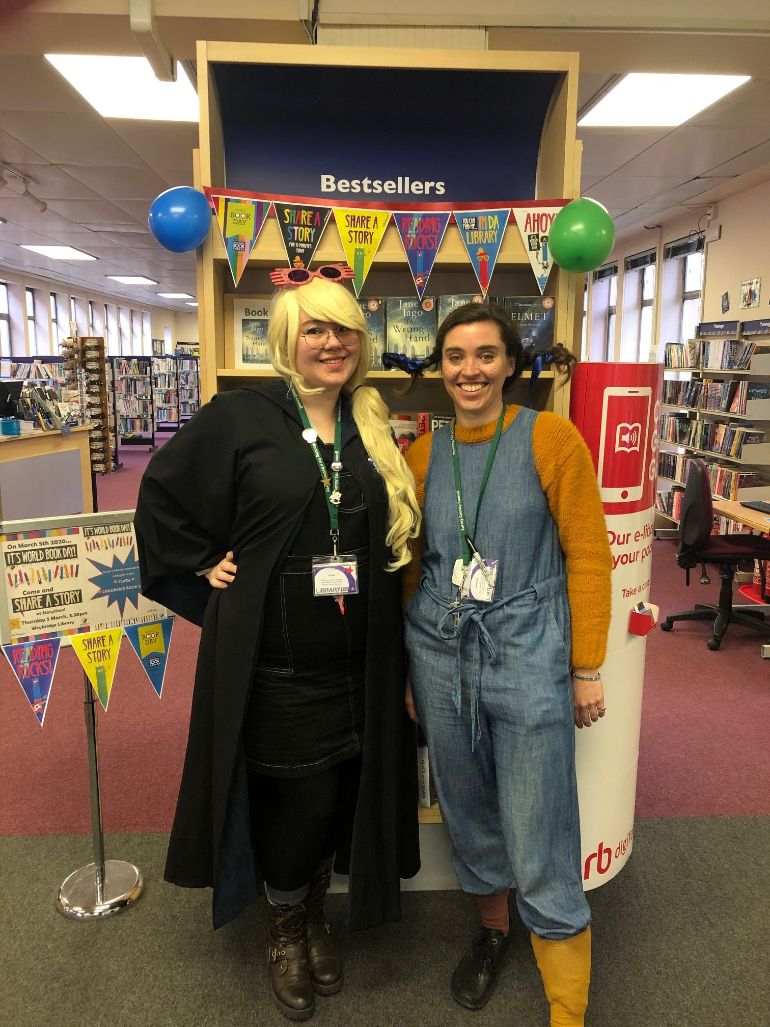 Share A Story At Story Time - World Book Day at Weybridge Library