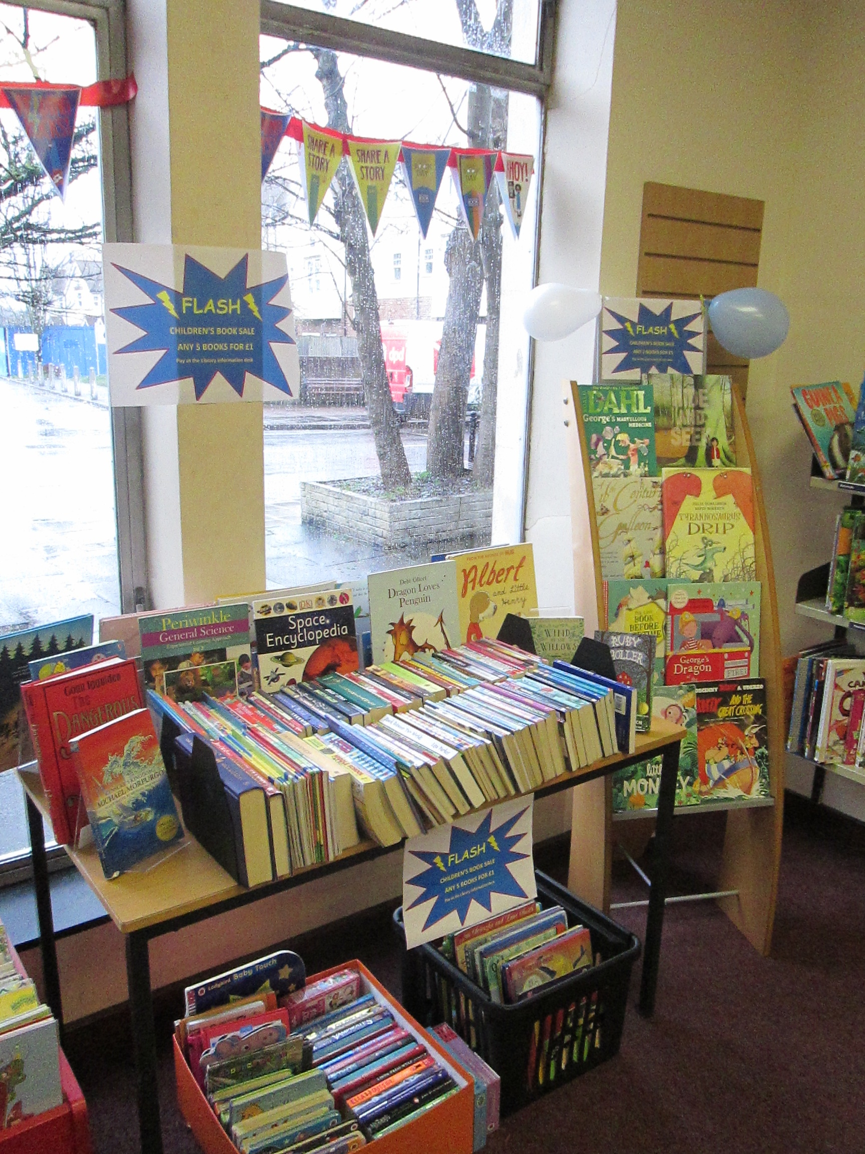 World Book Day - Book Sale at Weybridge Library
