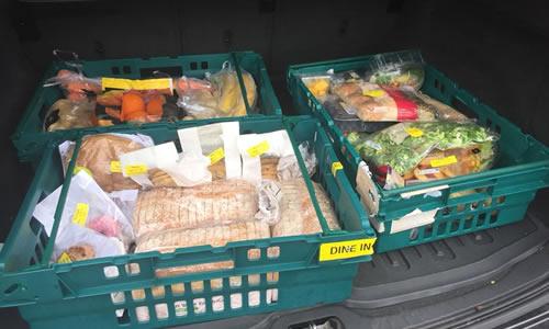 Food store at Walton Charity