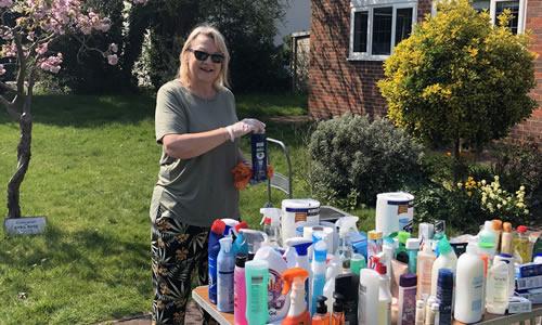 Volunteering To Help Walton & Hersham Foodbank Elmbridge Surrey