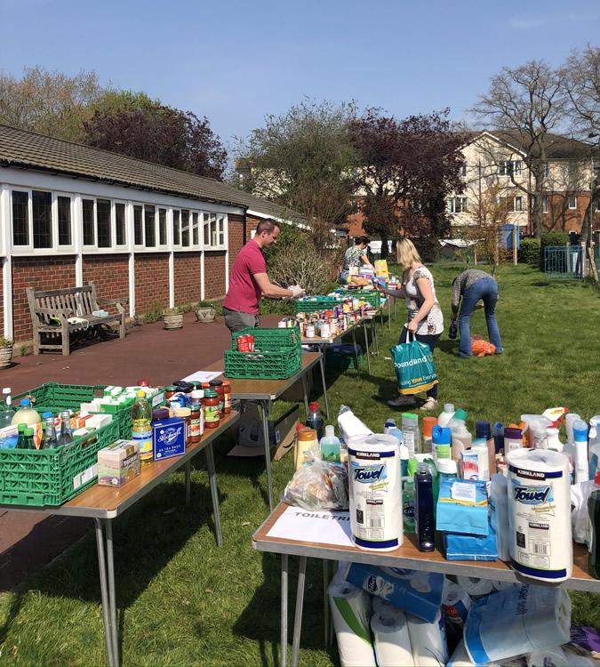 Walton and Hersham Foodbank - Food drive at St Johns Church Walton-on-Thames