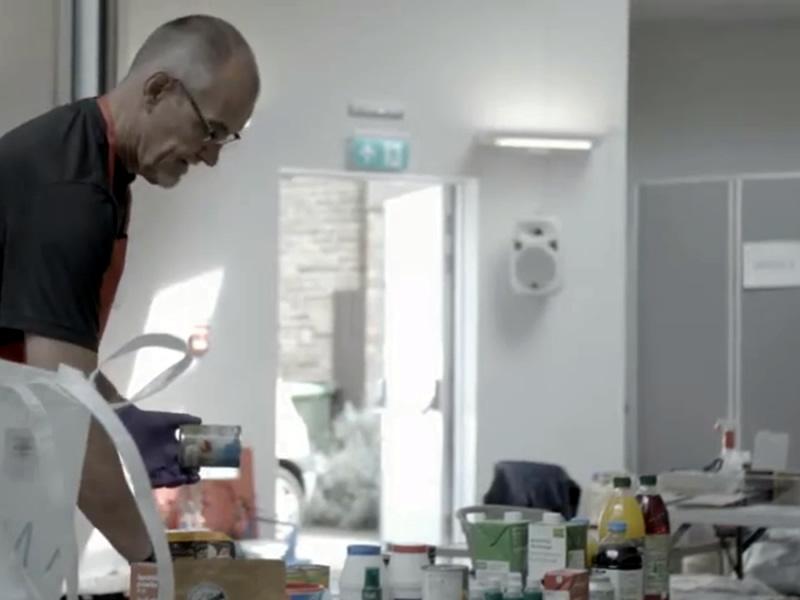Volunteering in Coronavirus Pandemic for East Elmbridge Foodbank