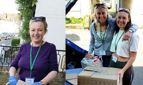 Volunteering To Help East Elmbridge Foodbank Esher Surrey