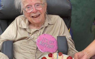 Sutton Lodge Weybridge Resident Rita Celebrates 101st Birthday