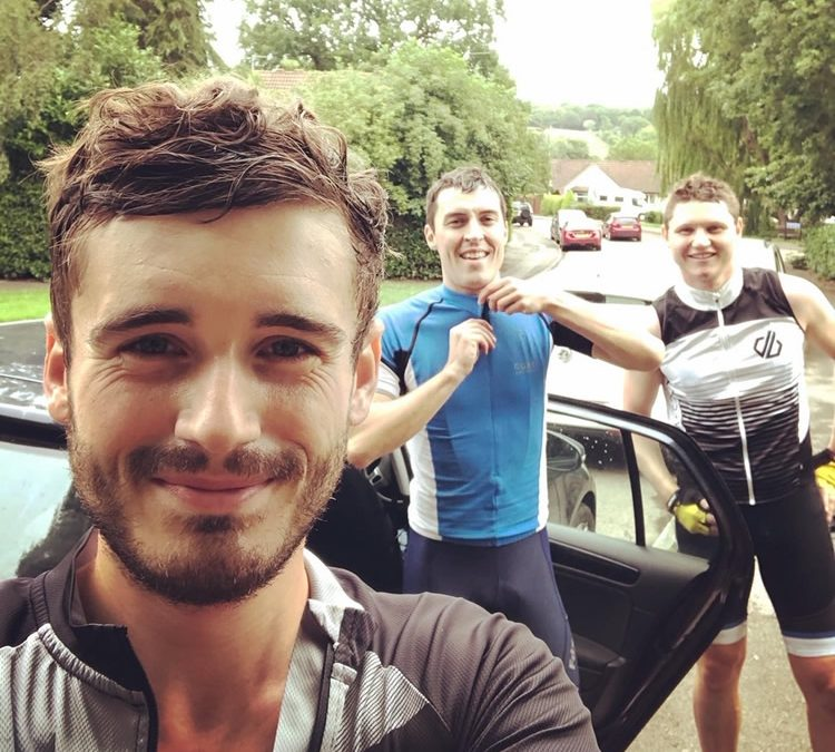 Scott's 100 Mile Charity Bike Ride for Macmillan Cancer Support