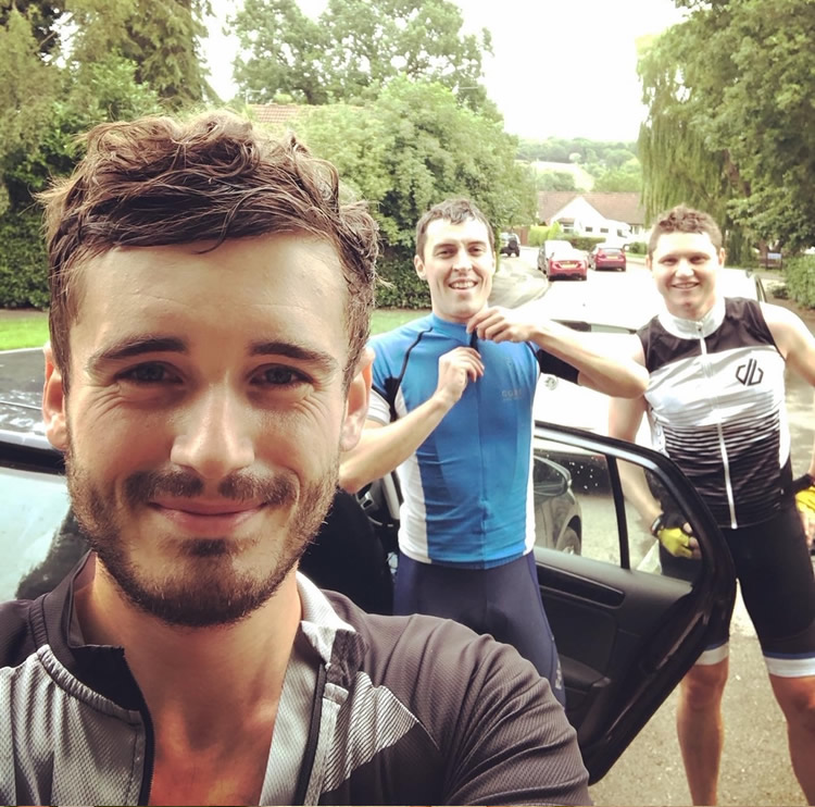 Charity Bike Ride for Macmillan Cancer Support