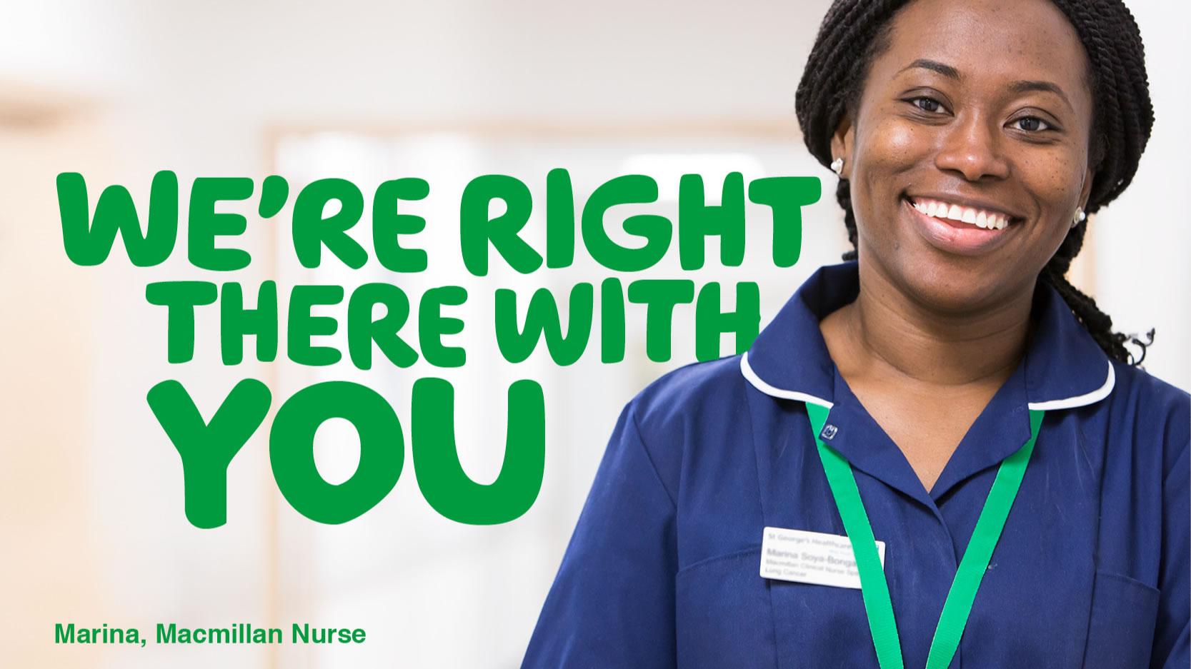 Macmillan Cancer Support Charity - Nurse