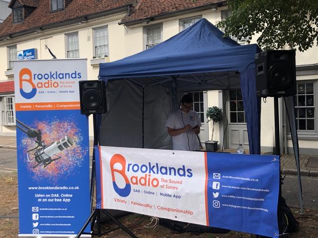Brooklands Radio at Weybridge August Market