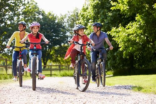 Family cycling - 2020 Getting Elmbridge Active Survey