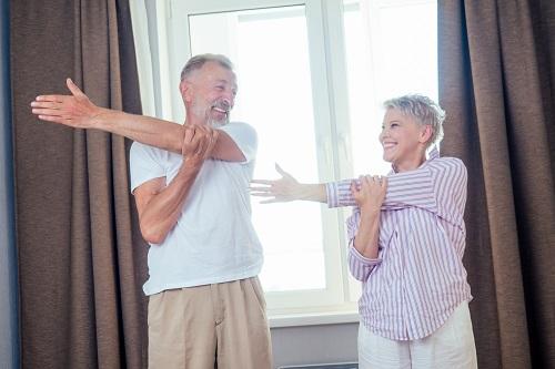 Stretching exercises - 2020 Getting Elmbridge Active Survey