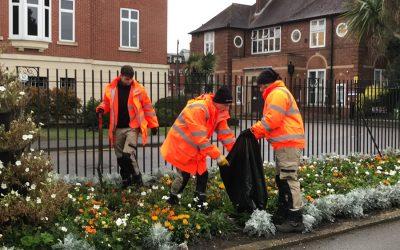 Weybridge In Bloom News – Churchfields Bedding Recycled & Weybridge Wombles