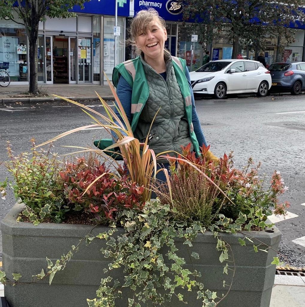 Weybridge in Bloom Planters