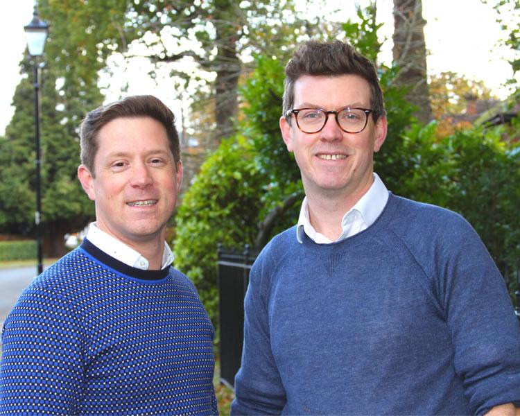 Stuart & Iain Belcher - Vision Properties Weybridge Estate Agency