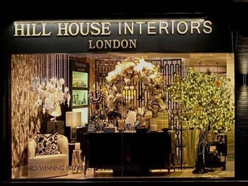 Hill House Interiors Christmas Window 2020