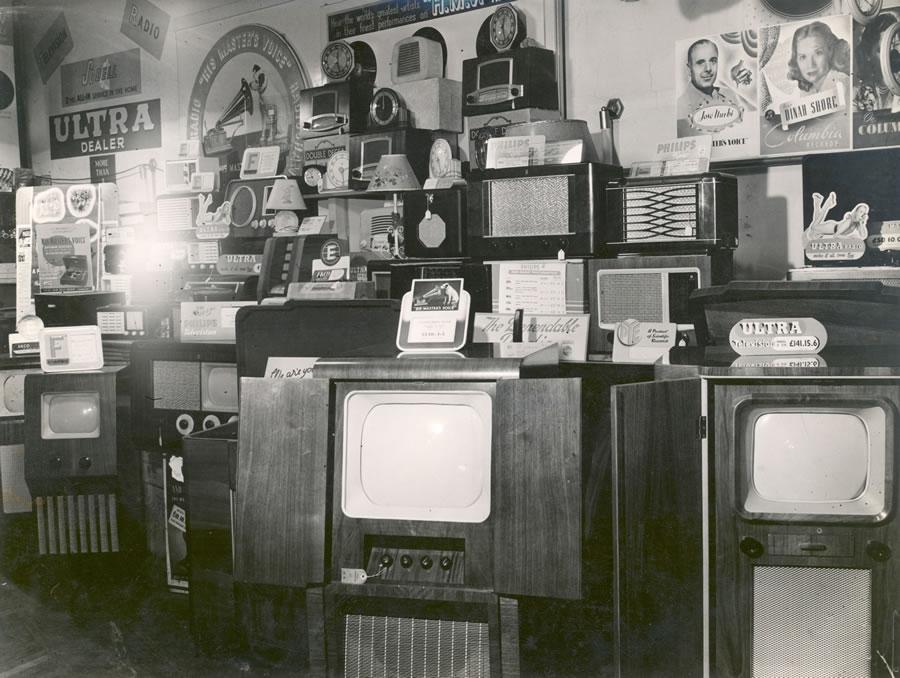Interior of Rogers & Sons store Weybridge branch c1950s