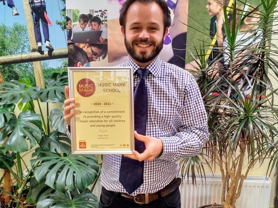 Cleves School Awarded Music Mark – High Quality Music Education For All