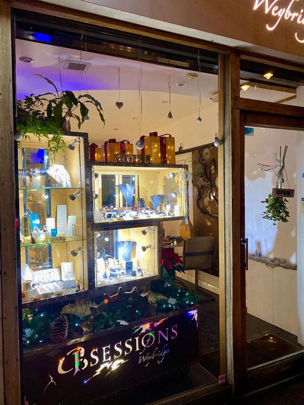 Obsessions Jewellery Shop Weybridge Surrey - Christmas Decorations