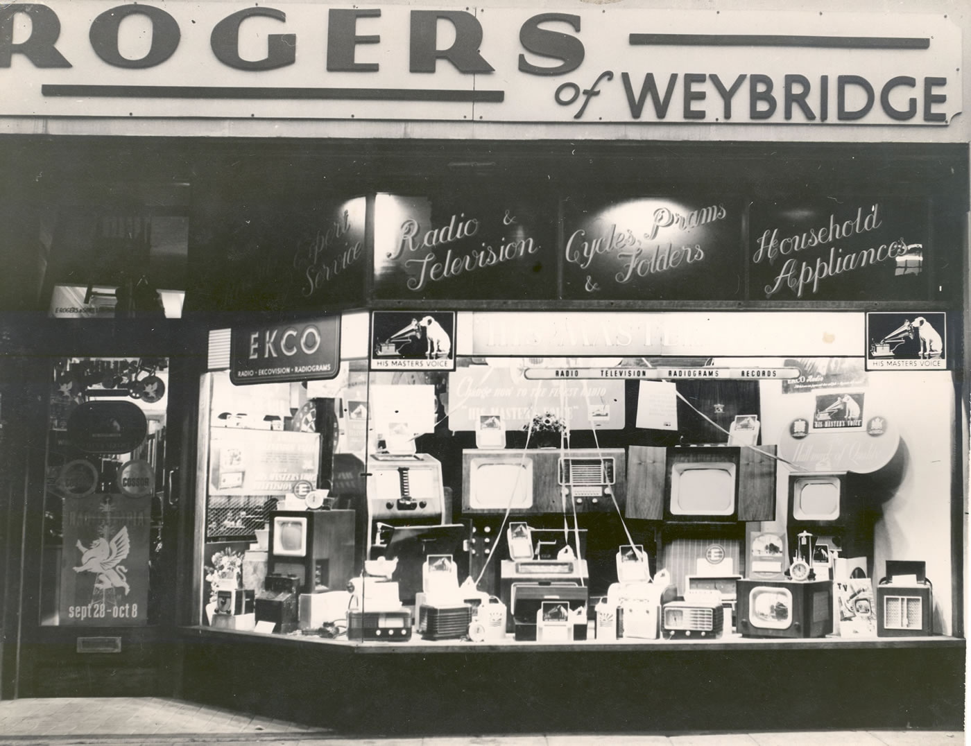 Walton on Thames Rogers TV and Radio store