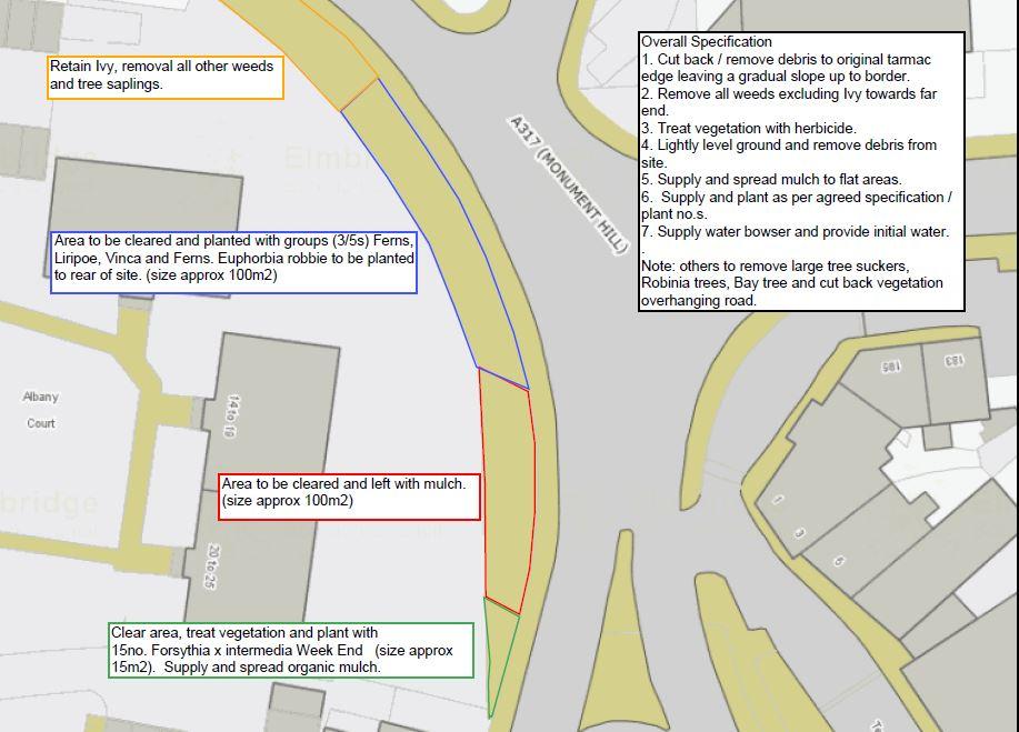Monument Hill Improvement Project Plans