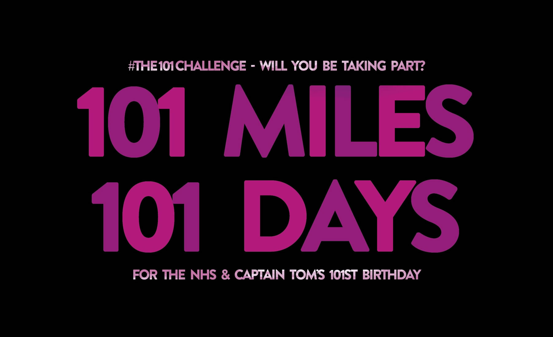Brooklands College Students and Staff - NHS Fundraiser 101 Challenge