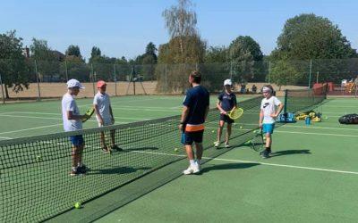 Holiday Tennis Camps In Weybridge