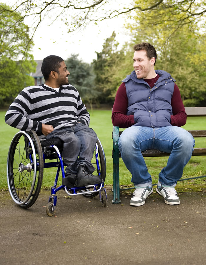 Care at Home in Weybridge and Cobham for Disabled and Elderly including Spinal Injuries