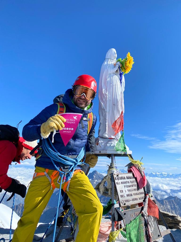 Mountains & Marathon Fundraiser for Princess Alice Hospice