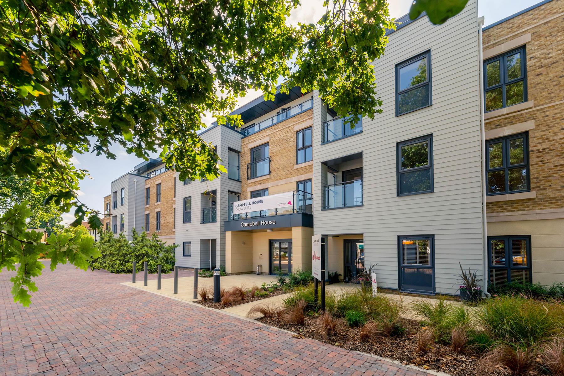 Campbell House Weybridge Retirement Living Plus Rental Development