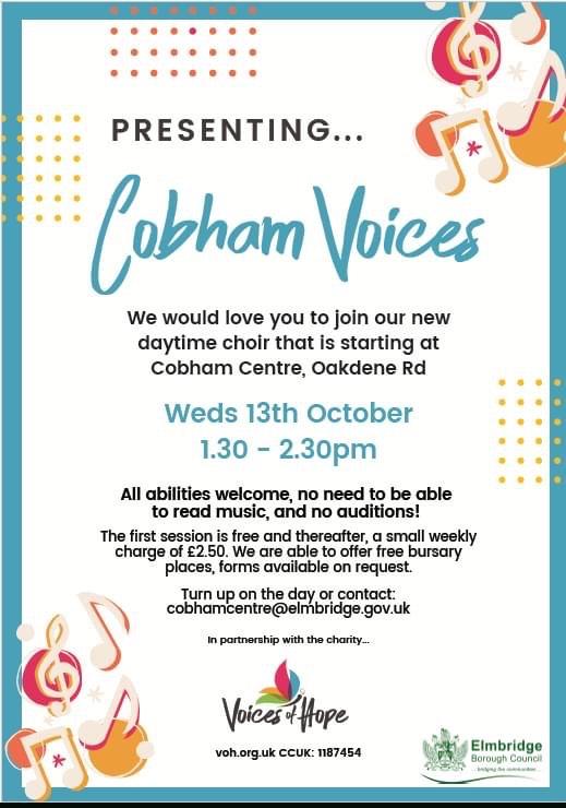 Cobham Voices Daytime Choir
