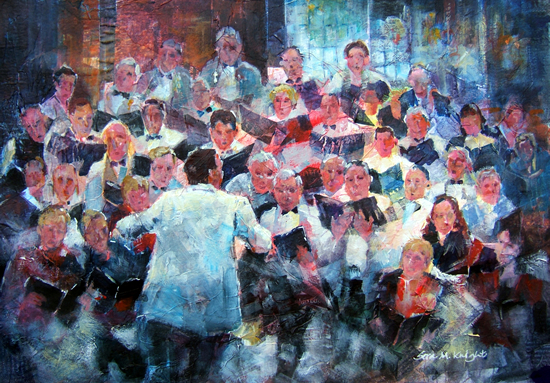 Elmbridge Choir Cobham Concert -Art